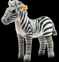click to see Steiff  Zoelle Grant's Zebra in detail