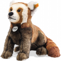 click to see Steiff  Bendi Red Pandi in detail