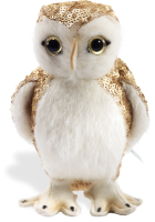 click to see Steiff Wise  Owl With A Touch Of 'bling' in detail