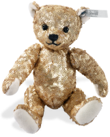 click to see Steiff  Gold Bear - With A Touch Of 'bling'! in detail