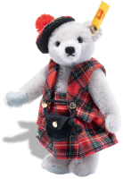 click to see Steiff  Great Escapes Edinburgh Teddy Bear in detail