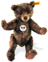 click to see Steiff  Brownie Teddy Bear in detail