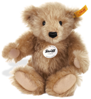 click to see Steiff  Mr Cinnamon in detail