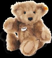 click to see Steiff  Mr Cinnamon Teddy Bear in detail