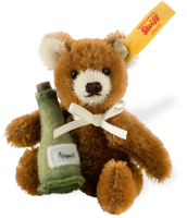 click to see Steiff  Mini Teddy With Champagne Bottle in detail