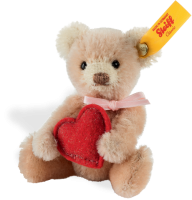 click to see Steiff  Mini Heart Teddy Bear in detail