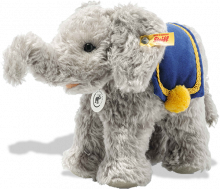 click to see Steiff  140th Anniversary Elephant in detail