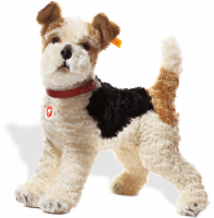 click to see Steiff  Fox Terrier in detail
