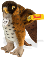 click to see Steiff  Fredi Hawk in detail