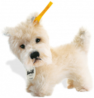 click to see Steiff  Treff West Highland Terrier in detail