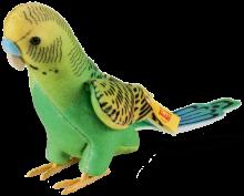 click to see Steiff  Hansi Parakeet in detail