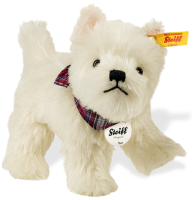 click to see Steiff Sam West Highland Terrier in detail