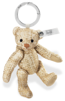 click to see Steiff  Aurelius Paradise Keyring - Very Smart And Stylish in detail