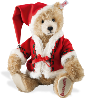 click to see Steiff  Musical Christmas Bear in detail