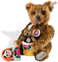 click to see Steiff  Matryoshka Bear in detail