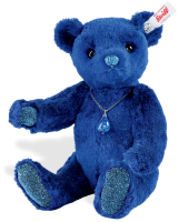click to see Steiff  Lapis Lazuli Teddy Bear in detail