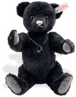 click to see Steiff  Onyx Teddy Bear in detail