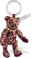 click to see Steiff  Jekaterina Keyring With Swarovski Necklace in detail
