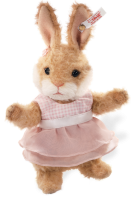click to see Steiff  Valerie Rabbit - Made From Finest Alpaca in detail