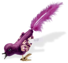 click to see Steiff  Birdie Feline With Feather Tail in detail