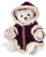click to see Steiff  Christmas Musical Bear in detail