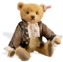 click to see Steiff  Sir Edward Bear in detail