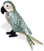 click to see Steiff  Ava Pongee Paradise Bird in detail