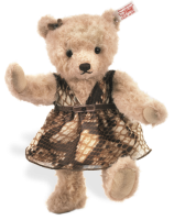 click to see Steiff  Alpaca Jane Teddy Bear in detail