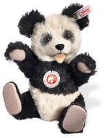 click to see Steiff  75th Anniversary Mohair Panda in detail