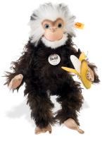 click to see Steiff  Najumo Monkey in detail