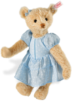 click to see Steiff  Mohair Alissa Teddy Bear in detail
