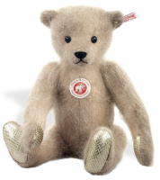 click to see Steiff  Bellamy Mohair Teddy Bear in detail