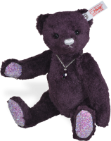 click to see Steiff  Amethyst Teddy Bear in detail