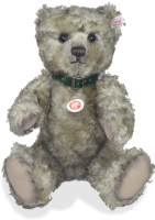 click to see Steiff  Jeremy Bear - A Gorgeous Big Bear in detail