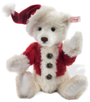 click to see Steiff  2012 Christmas Bear - Plays 'jingle Bells' in detail