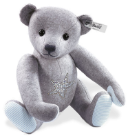 click to see Steiff  Selection Grey Felt Teddy Bear in detail