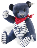 click to see Steiff  Jeans Selection Teddy Bear - On Special Offer in detail