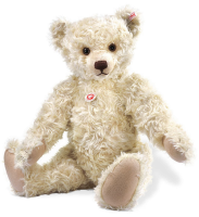 click to see Steiff  'sunny' Is Their Largest Limited Edition Bear in detail