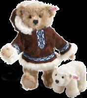 click to see Steiff  Matou Eskimo With Polar Bear in detail