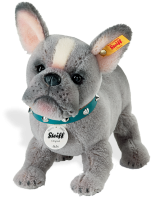 click to see Steiff  Bully Bulldog Puppy in detail