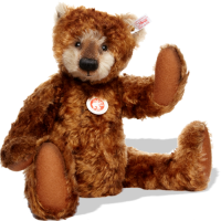 click to see Steiff  Limpy Teddy Bear in detail