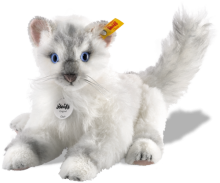 click to see Steiff  Chari Cat in detail