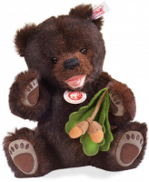click to see Steiff  Happy Grizzly Bear Cub in detail