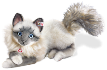 click to see Steiff  Minka Sacred Birman Cat Masterpiece in detail