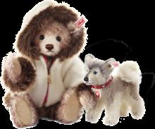 click to see Steiff  Hudson Eskimo Teddy Bear in detail