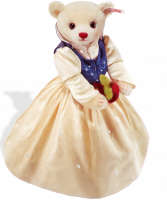 click to see Steiff  Snow White Teddy Bear in detail