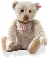 click to see Steiff  Bastian Teddy Bear in detail