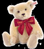 click to see Steiff  Margarete's Light Blond Teddy Bear - 28cm - 1909-2009 Spe in detail