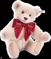 click to see Steiff  Margarete's Rose Teddy Bear in detail