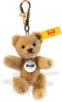 click to see Steiff  Mohair Keyring in detail